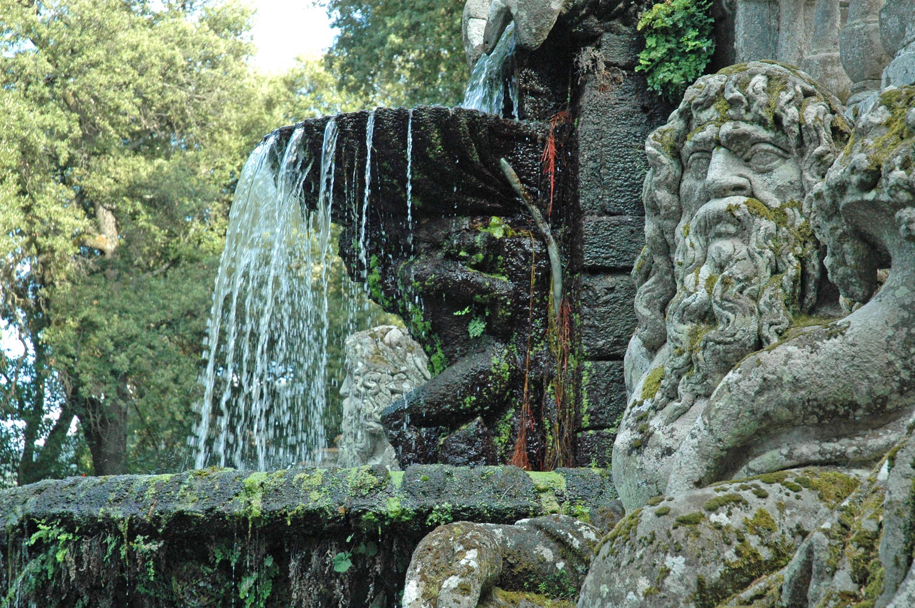 Villa Lante Fontana dei Giganti