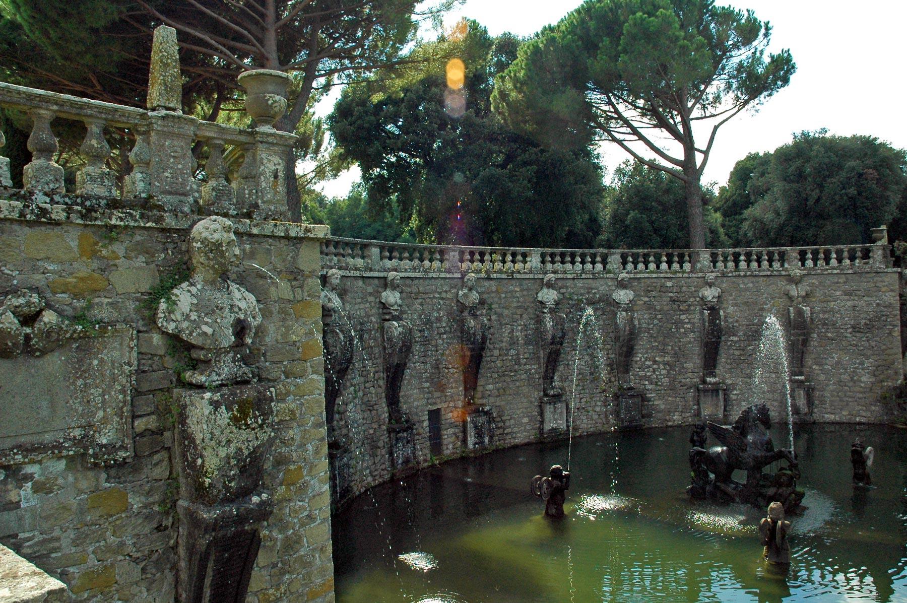 Villa Lante Fontana del Pegaso