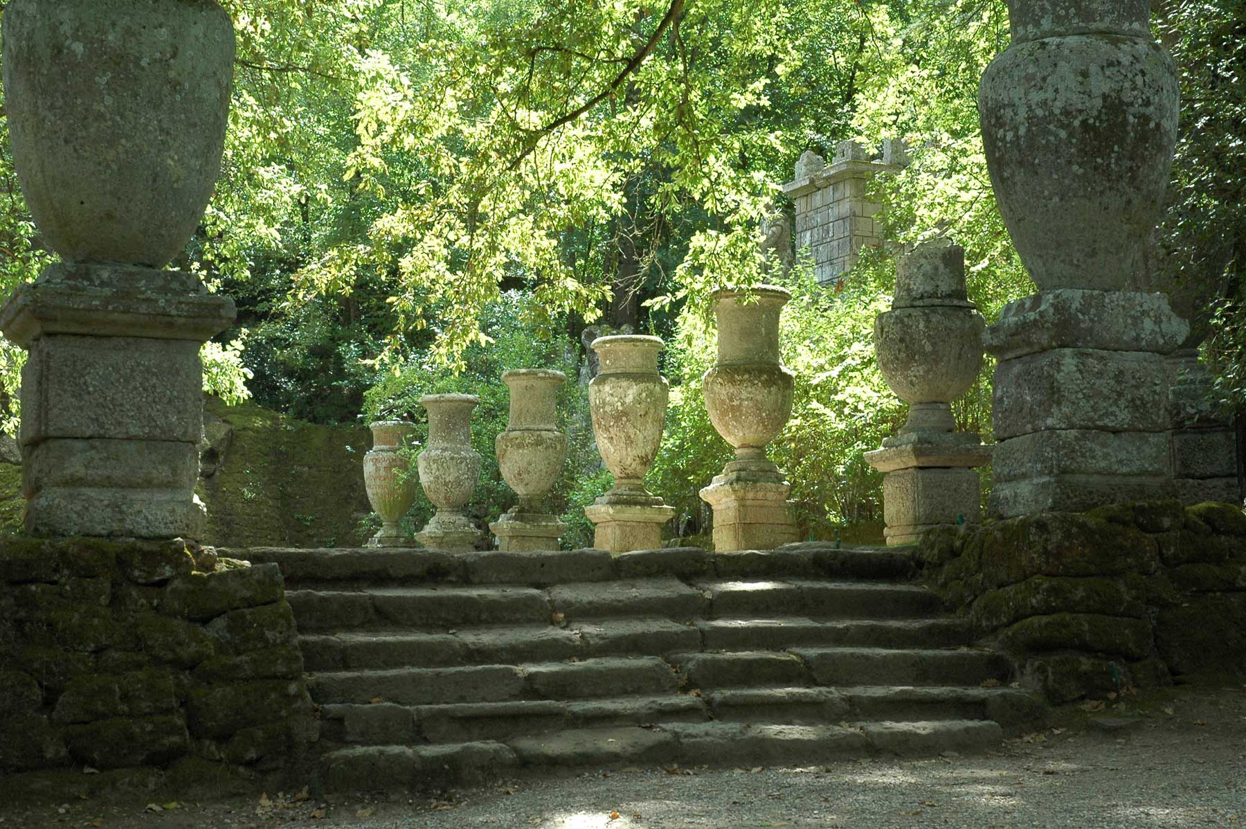 Bomarzo park van de monsters