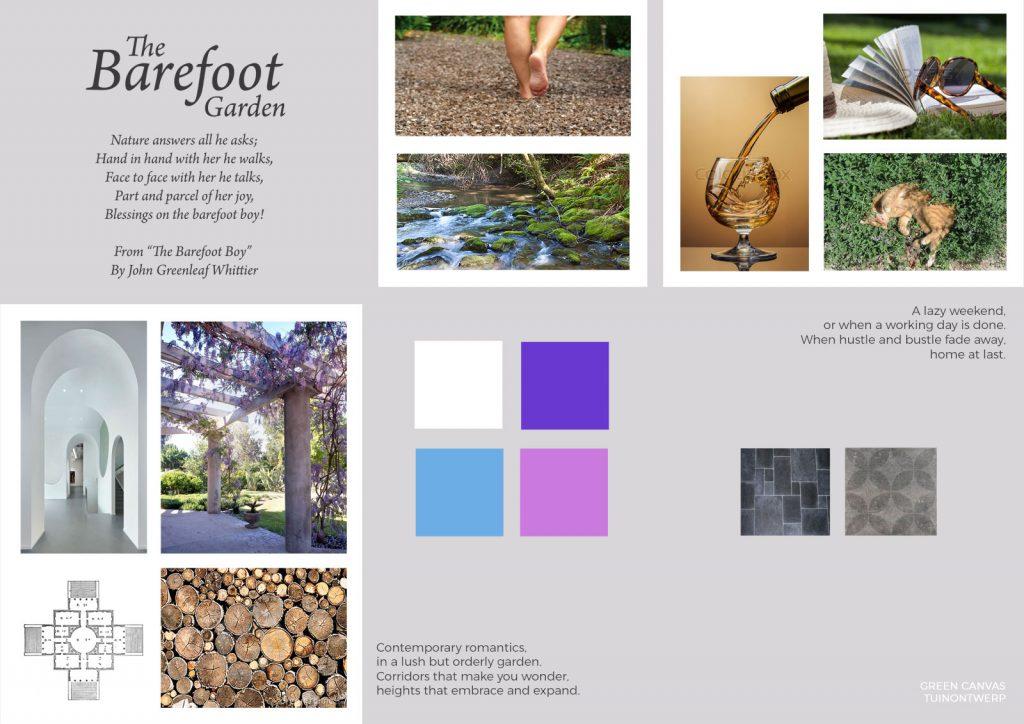 Moodboard Barefoot garden Den Haag